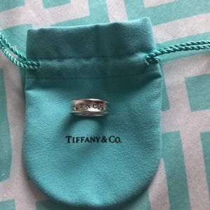 Tiffany & Co. 1837 Silver Ring 925 Size 6